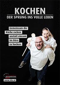 Kampagne Sprung ins Leben - Gemeinsam Kueche rocken A4